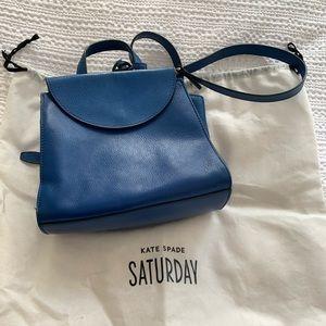 Kate Spade Saturday Mini Satchel Bag in Blue